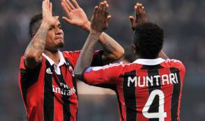 Muntari e Boateng ai tempi del Milan