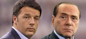 Renzi e Berlusconi