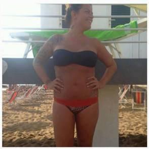 francesca del taglia bikini