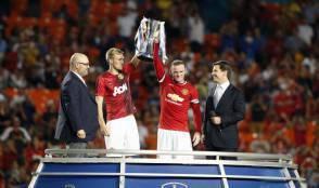 Premiazione Manchester United