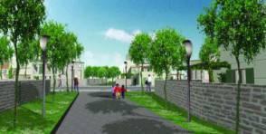 Un'immagine di un quartiere ecologico