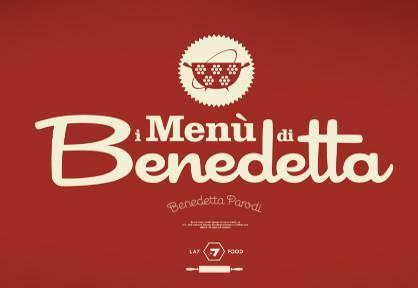 Il logo de i menù di Benedetta