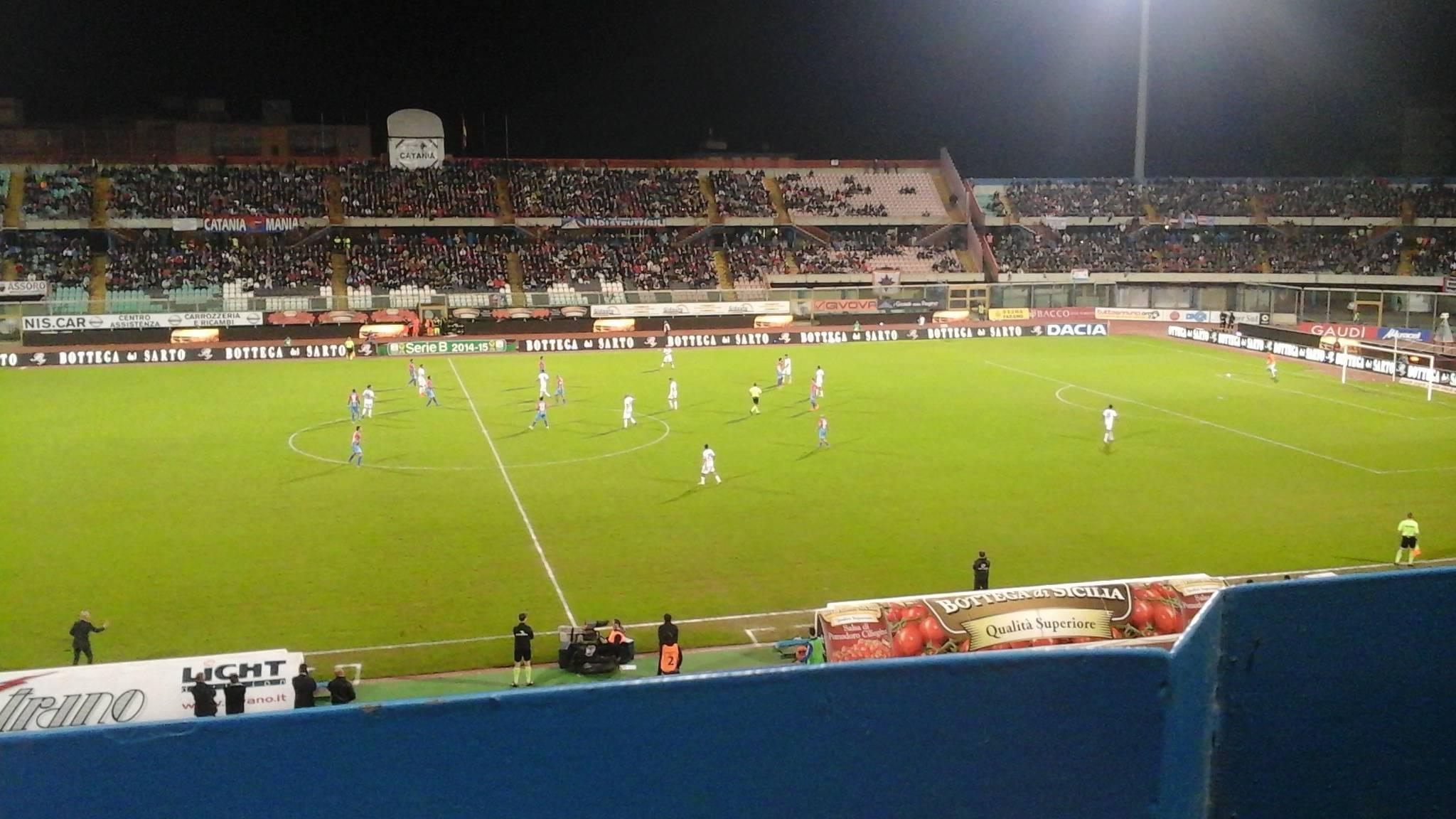 una immagine di Catania-Latina 1-0