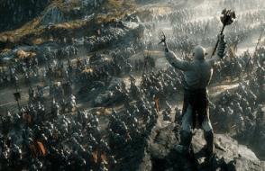Una scena de Lo hobbit la battaglia delle cinque armate