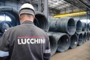 La fabbrica Lucchini a Piombino