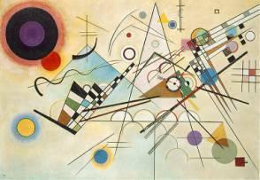 Un'opera di Kandinsky