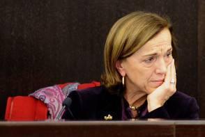 Italy's welfare minister Elsa Fornero br