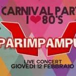 Giovedì sera al Pulp Paper Cartiera si rivivono gli anni '80 con i Parimpampum