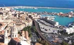 Il lungomare di Catania