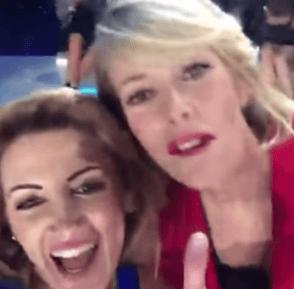 Rosy Maggiulli selfie con Alessia Marcuzzi