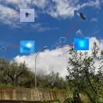 Lamezia Terme: padre e figlio immortalano disco volante e sfere luminose