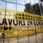 Istat: costruzioni in caduta libera, produzione giù del 2,5% in un anno