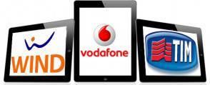 Wind, Vodafone, Tim