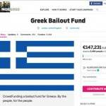 La folle idea di un britannico: salviamo la Grecia col crowdfunding