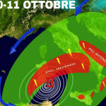 Previsioni meteo: nel weekend rischio nubifragi al Centro-Sud