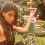 Belen Rodriguez scappa a Los Angeles, ma porta la famiglia
