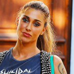 Belen Rodriguez imita il suo look