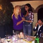 Belen Rodriguez: sorpresa al compleanno di Mara Venier