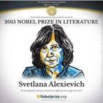 Nobel per la letteratura, il premio va a Svetlana Alexievich