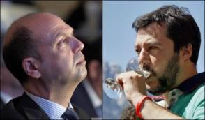 Alfano e Salvini