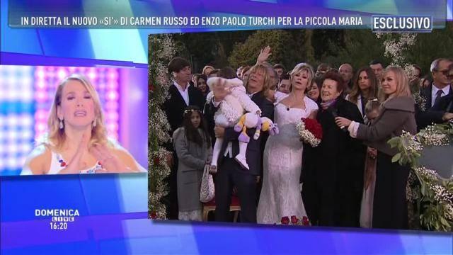 Matrimonio In Russo : Carmen russo e enzo paolo turci seconde nozze