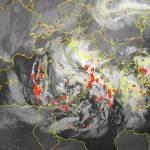 Maltempo e temporali al Centro-Sud: sarà una notte molto ventosa