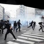 No Expo: 10 arresti per gli scontri del Primo Maggio