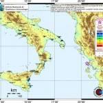 Terremoto nel Mediterraneo: ecco dove è stata avvertito