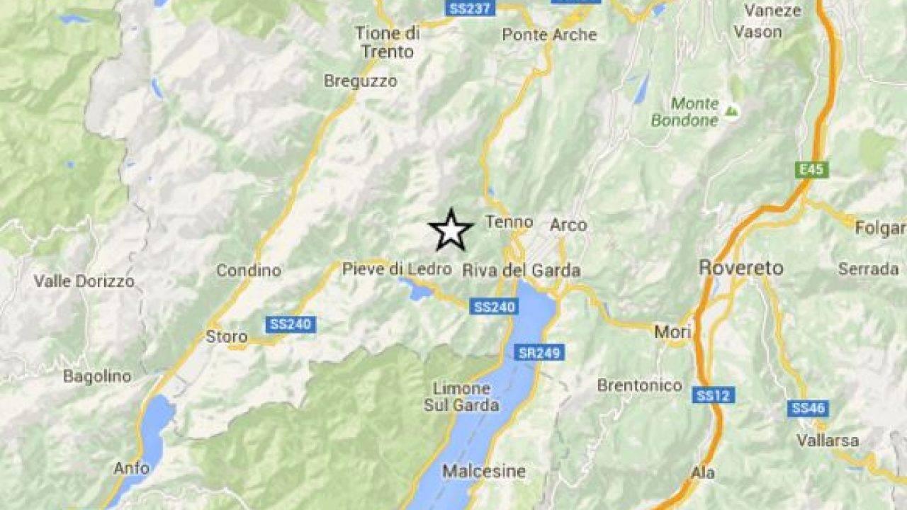 Terremoto oggi Nord Italia: scossa M 3.0 tra Lombardia e Trentino