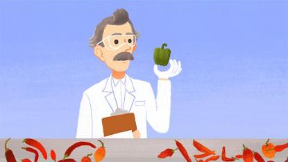 Google celebra Scoville e la scala del piccante