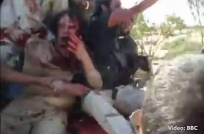 Gheddafi video inedito