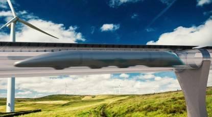 hyperlool treno da 1000 km h