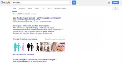 Surrogacy Google