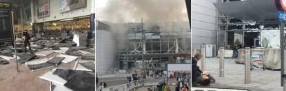 Immagini attentato Bruxelles