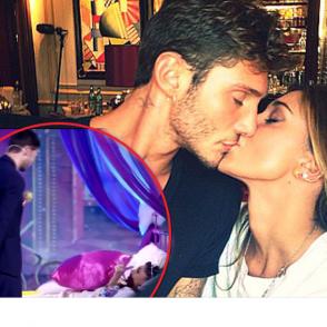Presunto bacio tra Belen e Stefano