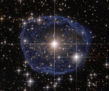 bolla di sapone cosmica