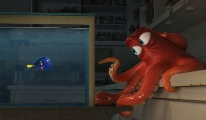 """Dory e Hank, da """"Alla ricerca di Dory"""""""