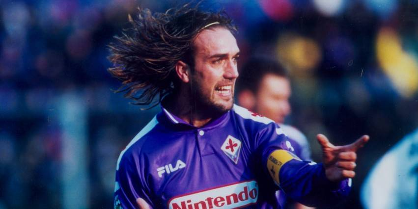© Archivio LaPresse 14-11-1998 Firenze, Italia Calcio Nella foto: GABRIEL BATISTUTA.