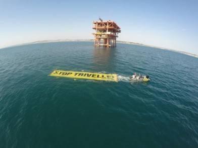 Greenpeace contro le trivelle