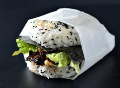 Il sushi burger, panino di riso