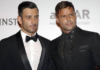 Ricky Martin e il suo nuovo fidanzato
