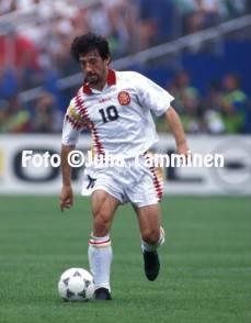 FIFA World Cup - USA 1994 JosŽ Maria Bakero - Spain ©Juha Tamminen