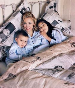 Madonna e i suoi due figli