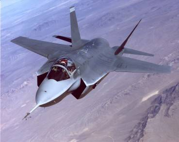 The X-35 Joint Strike Fighter demontrator