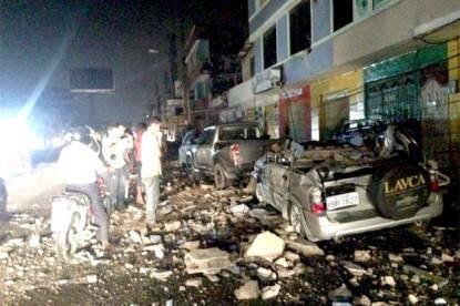 Il terremoto in Ecuador