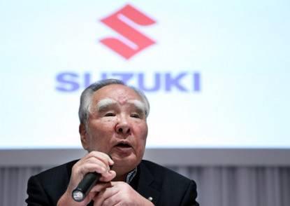 Suzuki Chairman Osamu Suzuki Launches New Wagon R