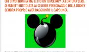 Bufala chiusura Topolino