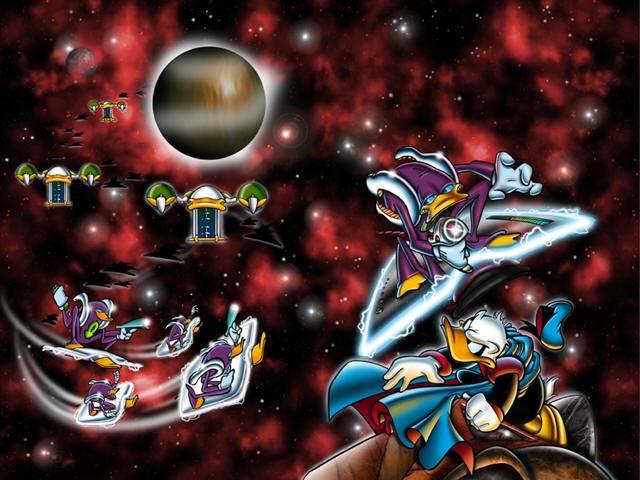 Vampiri alieni, viaggiatori del tempo e automi nella serie PKNA Paperinik New Adventures