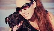 Miffany Haynes says her dog Leonardo got ill after chewing on a discarded e-cigarette a friend had left under her sofa.  Profile picture on her instagram