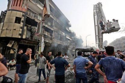 Iraq, bilancio strage di Baghdad si aggrava: 292 i morti